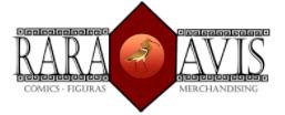 tienda-friki-merchandising-videojuegos-anime-rara-avis-dos-hermanas-logo