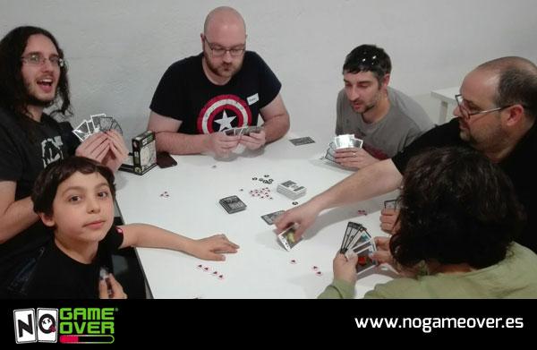 No Game Over 2ª edición en asociación lúdica de Madrid El Dado Rúnico foto 1