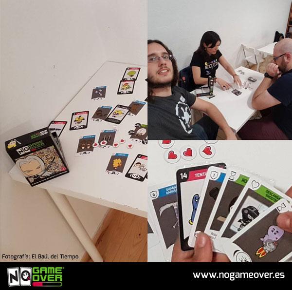 No Game Over 2ª edición en asociación lúdica de Madrid El Dado Rúnico foto 2