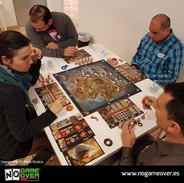 No Game Over 2ª edición en asociación lúdica de Madrid El Dado Rúnico foto 4