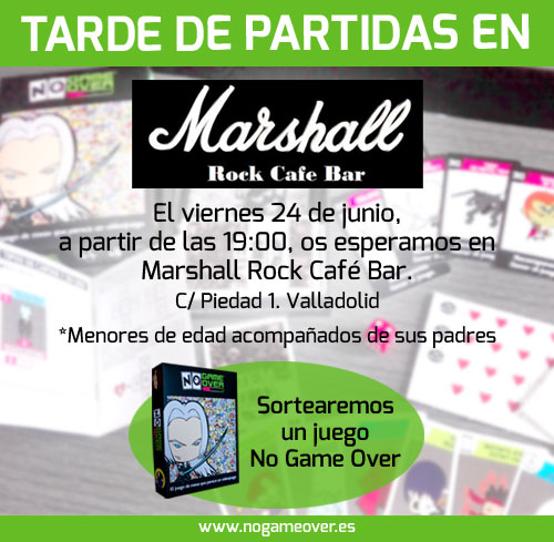 eventos-frikis-bar-rock-marshall-junio-2016-no-game-over