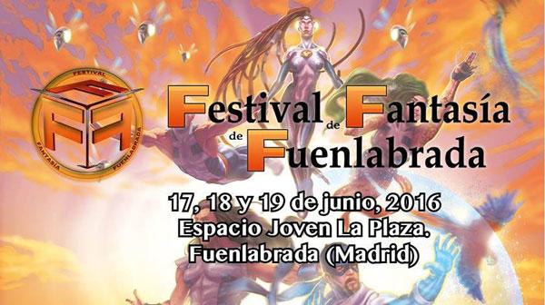 Eventos frikis Festival Fantasia Fuenlabrada 2016
