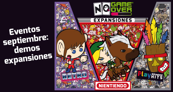 eventos-frikis-madrid-demos-expansiones-no-game-over-septiembre-2018