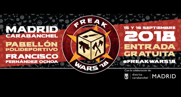 eventos-frikis-madrid-freak-wars-2018