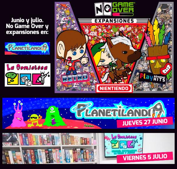 juego cartas videojuegos no game over demos junio julio
