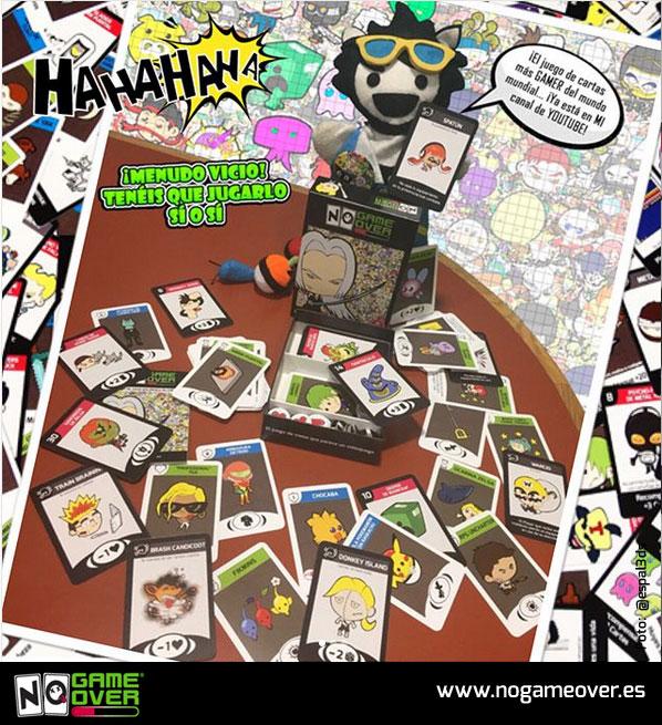 juego-de-mesa-friki-de-videojuegos-no-game-over-3-edicion-espaltino gamer
