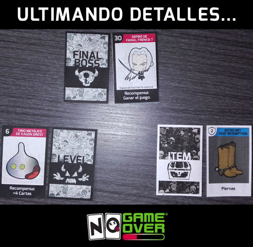 Prueba casera mazos definitivos juegos de cartas No Game Over