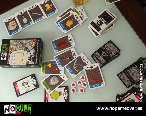 juegos de mesa de videojuegos no game over-RAYO-FEM-PITID10S