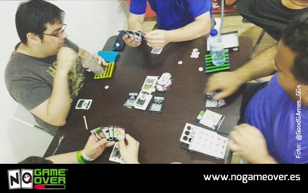 juegos de mesa de videojuegos no game over Good Games GGs Alcantarilla