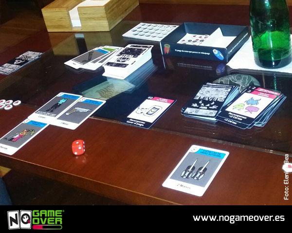 juegos de mesa de videojuegos no game over foto Bea