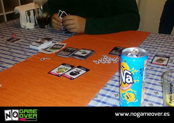 juego de mesa de videojuegos no game over foto George