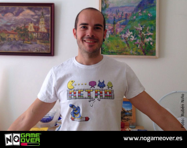 camisetas-frikis-videojuegos-no-game-over-mecenas-ruben-nino