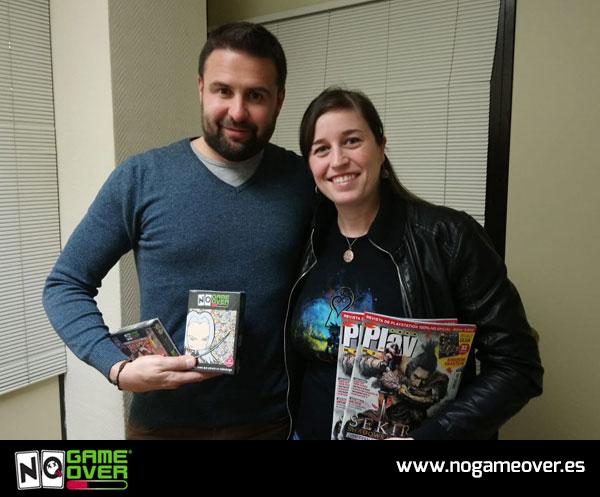 Sporty Andy con Dani Acal, redactor jefe de la revista de videojuegos Playmanía