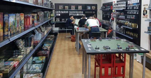 Tienda de juegos de mesa Bilbao Epic Games