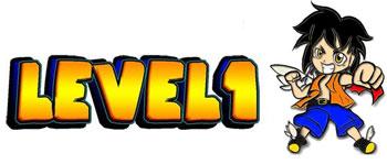 tienda friki online aguilas murcia level 1 logo