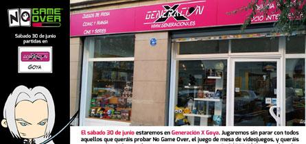 tienda-friki-madrid-goya-juegos-mesa-generacion-x-demos-no-game-over-junio-2018