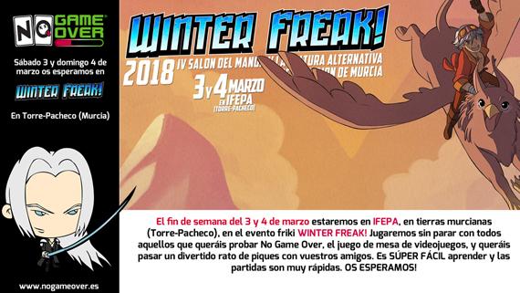 winter-freak-murcia-2018-eventos-frikis-no-game-over